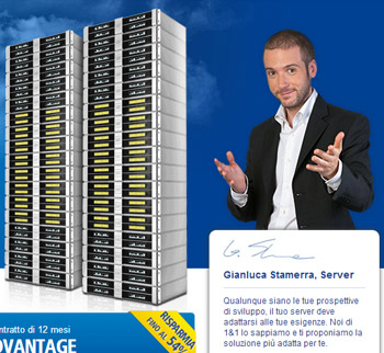 Gianluca Stamerra - Market Manager - 1&1 Cloud Server
