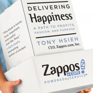 "Visiting Zappos while it ""delivers happiness"""